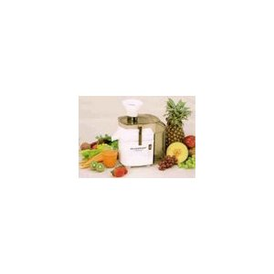 Miracle MJ-1000 Vegetable and Fruiter Juice Extractor, Automatic Pulp Ejector, White