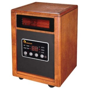 Dr Heater DR-968 Quartz + PTC Infrared Portable Heater - 1500 Watt and Produces 25% More Heat and Extremely Quiet