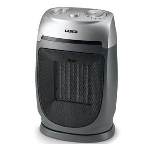 Lasko 5424 Ceramic Heater with Adjustable Thermostat.