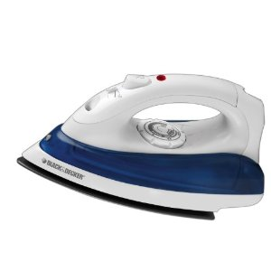 Black & Decker IR0110W Quick `N Easy Iron, White