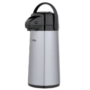 Thermos Vacuum-Insulated 2-qt. Beverage Pot with Pump Dispenser
