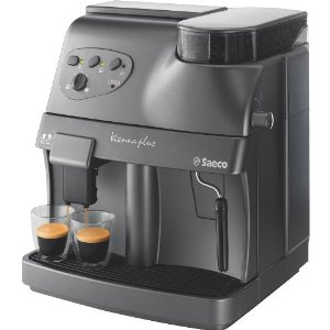 Saeco 4038 Vienna Plus 15-Bar-Pump Super-Automatic Espresso Machine, Graphite