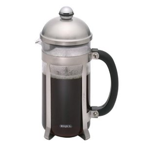 BonJour 8-Cup Maximus French Press, Polished Stainless Steel