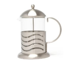 LaCafetiere Wave Coffee Press, Chrome