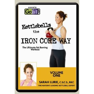 GoFit Kettlebells the Iron Core Way DVD Volume 1