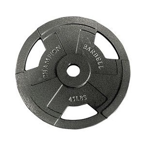 Olympic Grip Plate 45LB (EA)