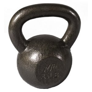 J Fit 35-Pound Cast Iron Kettlebell