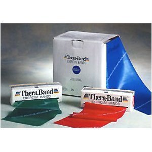Thera-Band Exercise Bands - Latex Bands - 6 Yards
