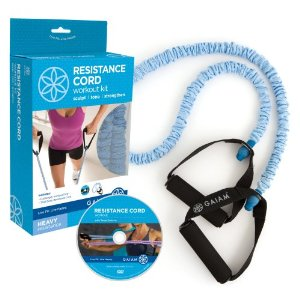 Gaiam Covered Resistance Cord Kit (Heavy)