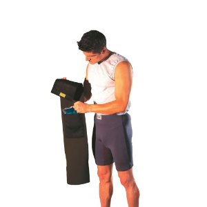 Everlast Slimmer Belt with Hot and Cold Therapy Gel Pack