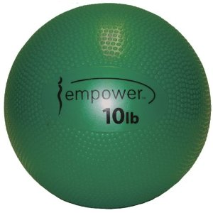 Empower 10-Pound Soft Medicine Ball with DVD