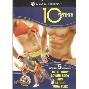 Tony Horton's 10 Minute Trainer (Includes 5 Workouts: Total Body, Lower Body, Abs, Cardio & Yoga Flex)