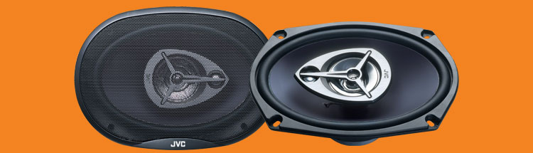 Jvc csv6935 car speakers 6inch x 9inch 3way