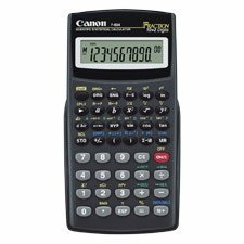CANON USA / Scientific/Statistical Calc,158 Func,3