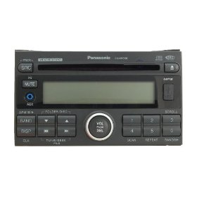 Panasonic CQ-5800U Double DIN (2 DIN) Heavy Duty MP3 / Weather Band / CD Player / Receiver with Front AUX IN, Front USB and CD Changer Control (Satellite Radio Ready)