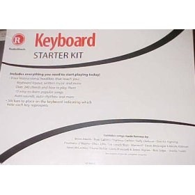 Radio Shack Piano Keyboard Starter Kit. Four Songbooks