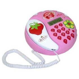 Strawberry Shortcake Telephone W/Caller ID