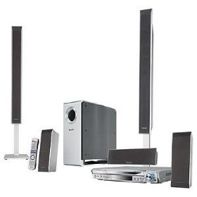 Panasonic SCHT-940 - 1000 Watts 5 Disc DVD/CD HDTV Home Theater System