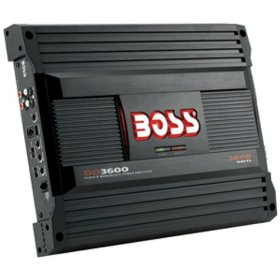 Boss DD3600 Class D Monoblock Amplifier with Maximum Power 3600 Watts