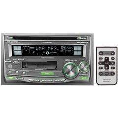 Pioneer FH-P4200MP Double-Din CD/Cassette Receiver