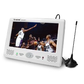 IView 780PTV  7-Inch Handheld Digital LCD TV, White
