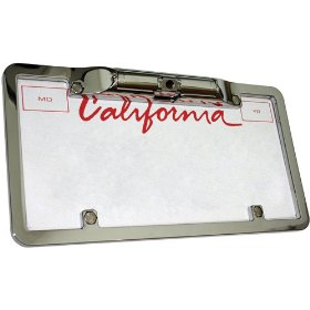Boyo VTL200 Zinc Metal Chrome License Plate Camera