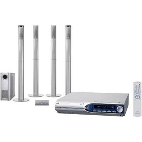 JVC TH-M603 DVD Home Theater System with 5-Disc Changer