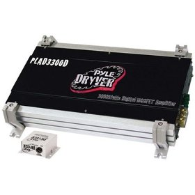 PYLE PLAD3300D Dryver 3600 Watt Mono Block Mosfet Digital Amplifier