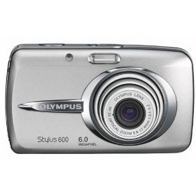 Olympus Stylus 600 6MP Digital Camera with 3x Optical Zoom