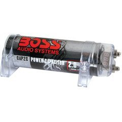 Boss CAP2C 2 Farad Capacitor (Chrome)