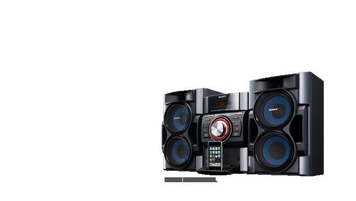 Sony mhcec79i home stereo 380w pc in ipod dock