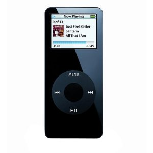 Pre-Owned 2GB iPod Nano - Black (1st Generation)