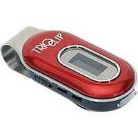 Mach Speed Trio Clip 4 GB MP3 Player (Red)