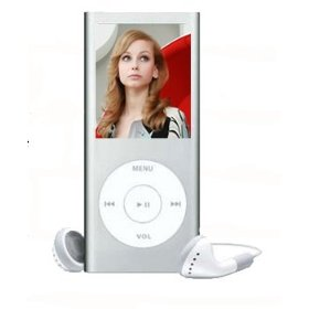 Cables4PC Silver 2 GB MP4 Player 1.8