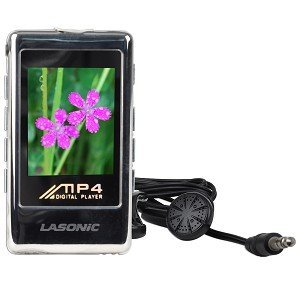 Lasonic VP-01GC 1GB USB MP3 Digital Music/Video FM Player & Voice Recorder w/1.8