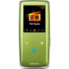 Samsung 8GB S3 Touch Sensitive Portable MP3 and Video Player (Green)