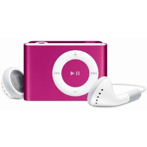 Apple iPod shuffle 1 GB Pink (2nd Generation) OLD MODEL