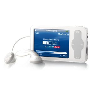 Meizu Slim 4 GB MP3/MP4 Player (White)
