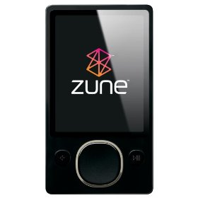 Zune 80 GB Digital Media Player (Black)