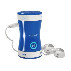 SanDisk Sansa Shaker 512 MB MP3 Player (Blue)