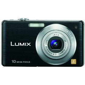 Panasonic Lumix DMC-FS7 10MP Digital Camera with 4x MEGA Optical Image Stabilized Zoom and 2.7 inch LCD (Black)