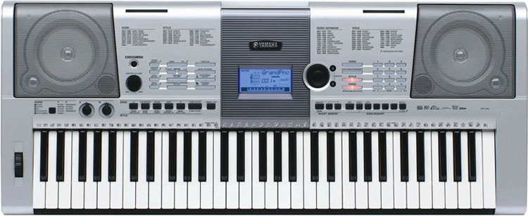 Yamaha ypt410ms keyboard full size 61note touch sensitive