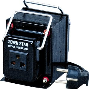 THG1500 WATTS TRANSFORMER, STEP DOWN FOR USE IN 220 & 240 VOLT COUNTRIES