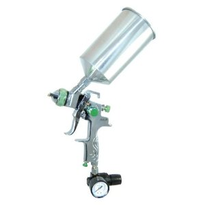 New 2.5mm HVLP SPRAY GUN-Auto Paint Primer-Metal Flake