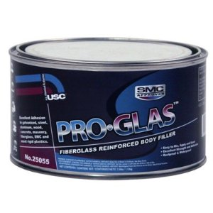 USC Pro-Glas Auto Body Dent Filler Putty Quart
