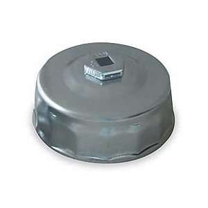 Westward 1EKH6 Oil Filter Wrench, End Cap, 65mm
