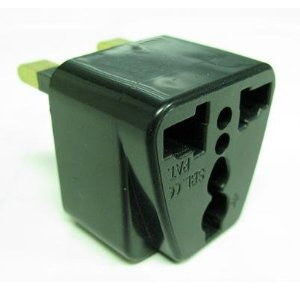 US/EU/AU To UK Travel AC Power Plug Adapter/Converter