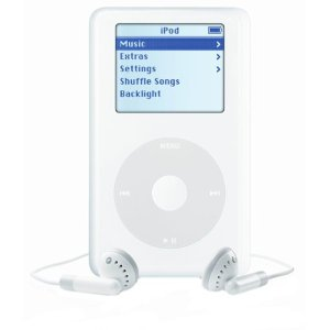 Apple iPod 20 GB White M9282LL/A (4th Generation) OLD MODEL