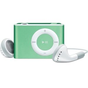Apple iPod shuffle 2 GB Green (2nd Generation) OLD MODEL