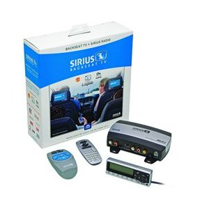 Sirius SCV1 Backseat TV Video Tuner